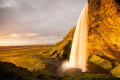Seljalandsfoss waterfalls Stock Photography