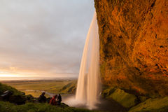 Seljalandsfoss waterfalls Stock Photos