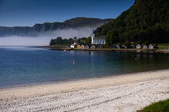 Selje chez Stad en Norvège Photo stock