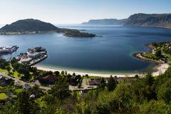 Selje på Stad i Norge Arkivfoton