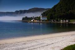 Selje på Stad i Norge Arkivfoto