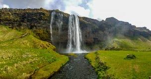 Seljlandfoss στην Ισλανδία στοκ εικόνα