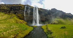 Seljlandfoss in Iceland stock image