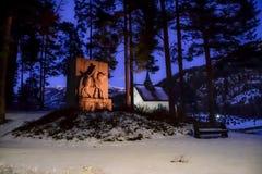 Seljord kirke Zdjęcie Royalty Free