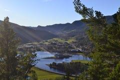Seljord w Telemark Obrazy Royalty Free
