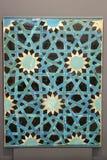 Seljuk Blauwe Tegel royalty-vrije stock afbeeldingen