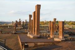 seljuks墓碑在阿赫拉特 免版税图库摄影