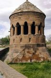 Seljuksbegraafplaats Graf van het Emir in de oude stad van Ahlat Plaats Oostelijk T royalty-vrije stock foto's