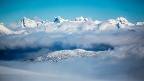 Selkirk山脉 库存照片