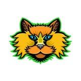 Selkirk Rex Cat Mascot libre illustration