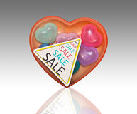 Sell heart. Stock Photography