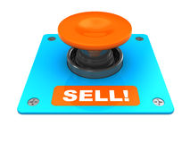 Sell button vector illustration
