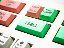 Sell button Royalty Free Stock Photos