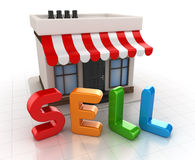 Sell concept Royalty Free Stock Photography