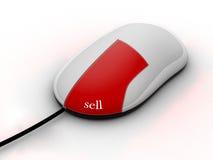 Sell em linha Imagem de Stock Royalty Free