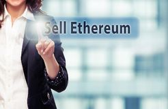 Sell Ethereum stock photo