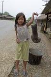 sell för mole för barnlaos mål arkivfoto