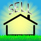 Sell house Stock Photos