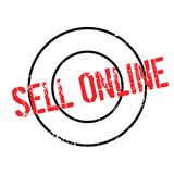 Sell Online rubber stamp Royalty Free Stock Images