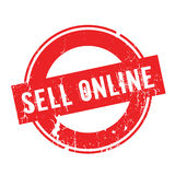 Sell Online rubber stamp Royalty Free Stock Photography
