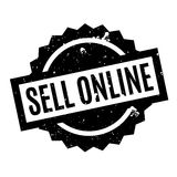 Sell Online rubber stamp Royalty Free Stock Photos
