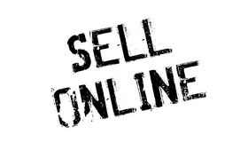 Sell Online rubber stamp Royalty Free Stock Image