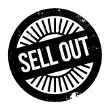 Sell Out rubber stamp Stock Photo