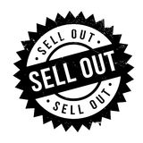 Sell Out rubber stamp Royalty Free Stock Image