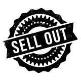 Sell Out rubber stamp Stock Photography