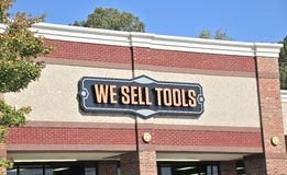 We Sell Tools Business Stock Photography