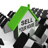 Sell Your House Home Means Marketing Property Stock Photos