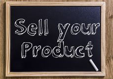 Sell your product Royalty Free Stock Photography