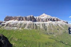 Sella Berg - Italain Dolomit Lizenzfreie Stockbilder