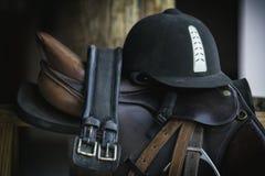 Sella del cavallo Immagini Stock