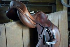 Sella del cavallo fotografia stock