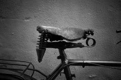 Sella della bici fotografia stock libera da diritti
