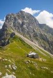 Sella di Kamnik, alpi di Kamnik Savinja, Slovenia Fotografie Stock Libere da Diritti