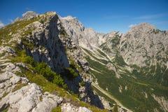 Sella di Kamnik, alpi di Kamnik Savinja, Slovenia Immagini Stock Libere da Diritti