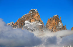 Sella Group in the Dolomites, Italy, Europe Stock Photography