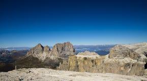 Sella group, Dolomites Italy Stock Photos