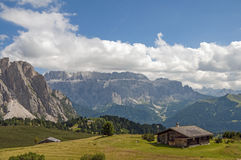 Sella group,South Tyrol,Italy Royalty Free Stock Photography