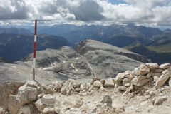 Sella-Gruppe, Dolomit Lizenzfreies Stockfoto