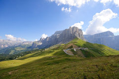 The Sella massif group - Dolomites, Italy Stock Photo