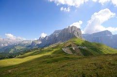 The Sella massif group - Dolomites, Italy Stock Photo