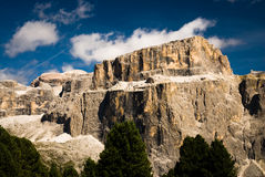 Sella mountain Royalty Free Stock Images