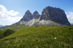 Sella pass Stock Image