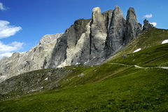 Sella pass Royalty Free Stock Image