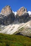 Sella Pass Dolomites Italy Royalty Free Stock Photo
