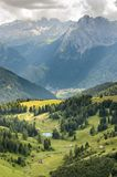 Sella Pass Royalty Free Stock Images