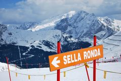 Sella Ronda Images stock